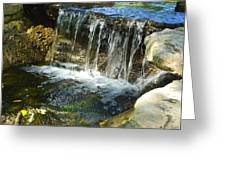 Little Falls 3 Greeting Card by Charlie Brock