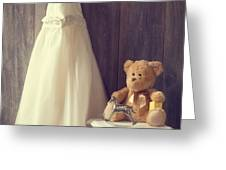 Little Girls Bedroom Greeting Card by Amanda And Christopher Elwell