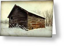 Little Shed Greeting Card by Julie Hamilton