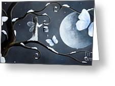 Little Snow Fairy By Shawna Erback Greeting Card by Shawna Erback