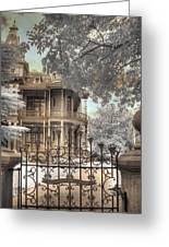 Littlefield Home Greeting Card by Jane Linders