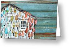 Lively Lives Greeting Card by Danny Phillips