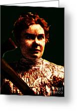 Lizzie Greeting Card by Wingsdomain Art and Photography