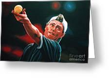 Lleyton Hewitt 2  Greeting Card by Paul  Meijering