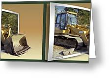 Loader - Cross Your Eyes And Focus On The Middle Image Greeting Card by Brian Wallace