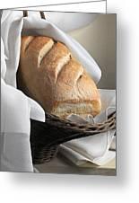 Loaf Of Bread Greeting Card by Krasimir Tolev