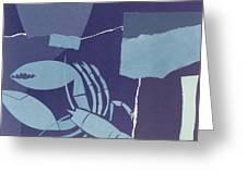 Lobster Greeting Card by John Wallington