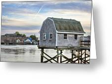 Lobster Shack Greeting Card by Eric Gendron