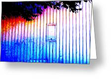 Location 54 North  A Shed Full Of Surprises Greeting Card by Sir Josef - Social Critic - ART
