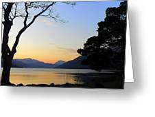 Loch Lomond Sunset Greeting Card by The Creative Minds Art and Photography