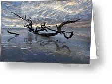 Loch Ness Greeting Card by Debra and Dave Vanderlaan