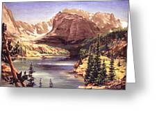 Lock Vale - Colorado Greeting Card by Art By Tolpo Collection