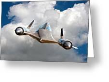 Lockheed Blackbird A12 Trainer Greeting Card by David Murphy