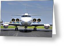 Lockheed Jetstar 2 Greeting Card by Dan Myers