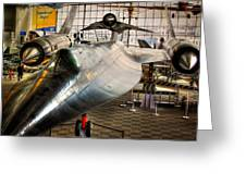 Lockheed M-21 Blackbird Greeting Card by David Patterson