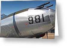 Lockheed P-38l Lightning Honey Bunny Nose Art - 04 Greeting Card by Gregory Dyer