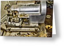 Locksmith - The Key Maker Greeting Card by Paul Ward