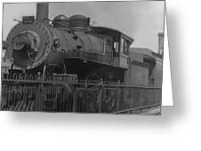 Locomotive 1110 Greeting Card by Henri Bersoux