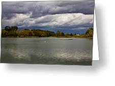 Lodi Lake Greeting Card by Randy Bayne