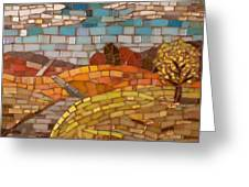 Loess Hills Greeting Card by Julie Mazzoni