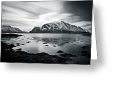 Lofoten Beauty Greeting Card by Dave Bowman