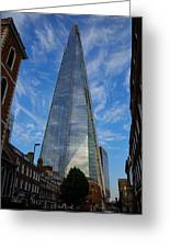 London The Shard Greeting Card by Steven Richman