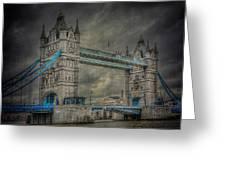 London Tower Bridge Greeting Card by Erik Brede