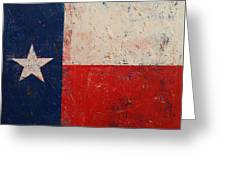 Lone Star Greeting Card by Michael Creese