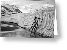 Lonely bike Greeting Card by Maurizio Bacciarini