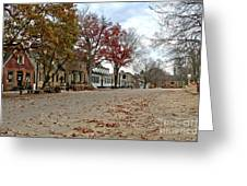 Lonely Colonial Williamsburg Greeting Card by Olivier Le Queinec