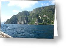 Long Boat Tour - Phi Phi Island - 011312 Greeting Card by DC Photographer