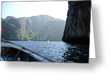 Long Boat Tour - Phi Phi Island - 011394 Greeting Card by DC Photographer