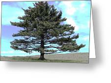 Long Island Tree Of Life Greeting Card by Penelope Cyr-Lorenson