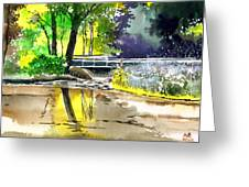 Long Time No See Greeting Card by Anil Nene