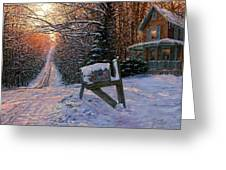Long Way From Home Greeting Card by Doug Kreuger
