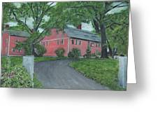 Longfellow's Wayside Inn Greeting Card by Cliff Wilson