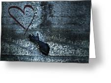 longing for love Greeting Card by Joana Kruse