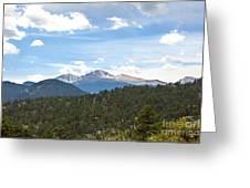 Longs Peak Greeting Card by Kay Pickens