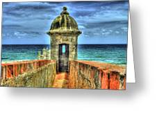 look out Greeting Card by Dado Molina