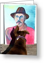 Lookin At You Dad Greeting Card by Ron McMath