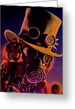 Looking At You Greeting Card by Michael Pickett