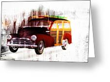 Looking For Surf City Greeting Card by Bob Orsillo