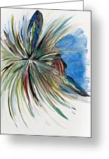 Looking Out Greeting Card by Don Medina