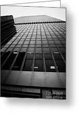 Looking Up At 1 Penn Plaza On 34th Street New York City Usa Greeting Card by Joe Fox