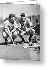 New York Yankees  Greeting Card by Retro Images Archive