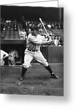 Lou Gehrig Practice Swing Greeting Card by Retro Images Archive