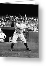 Lou Gehrig Stance Greeting Card by Retro Images Archive