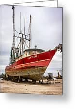 Louisiana Shrimp Boat 2 Greeting Card by Steve Harrington
