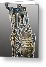 Louvre Death Greeting Card by Gregory Dyer