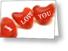 Love Greeting Card by Bernard Jaubert